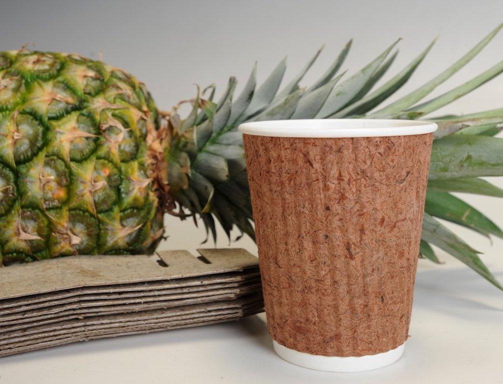Переработка дня: биоразлагаемая посуда из ананасов и кинзы