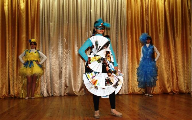 Московские школьники покажут модели одежды из вторсырья