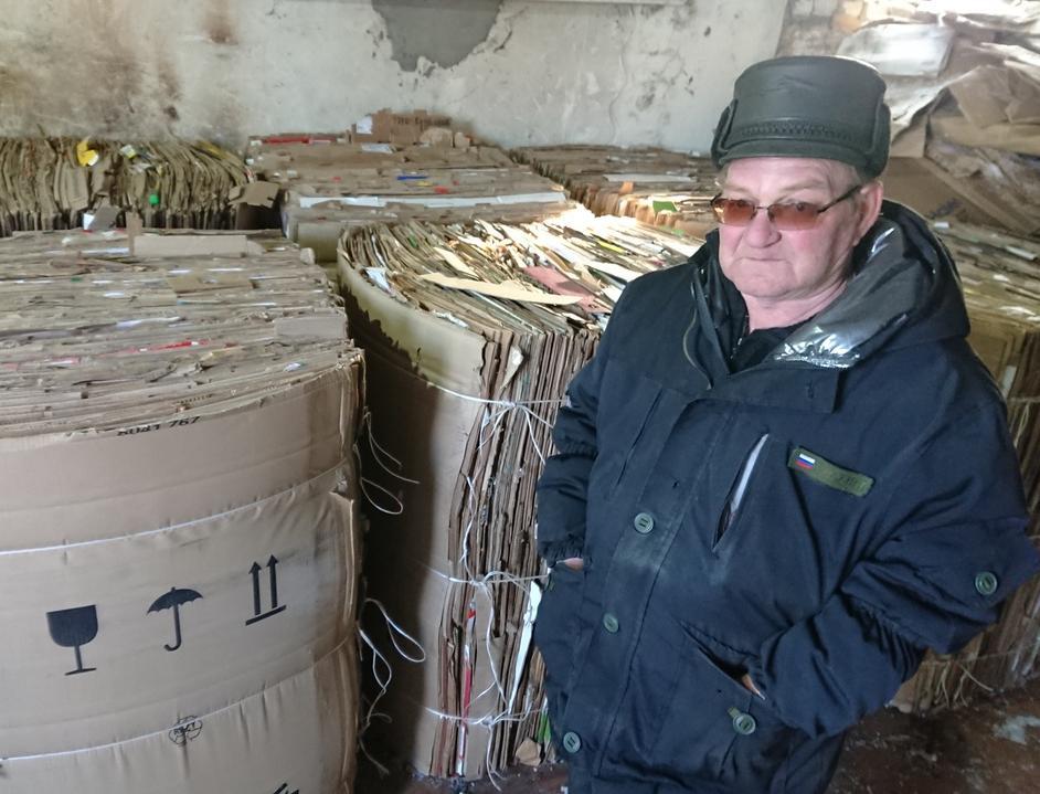 Личный опыт: как пенсионер из Ульяновской области Валерий Сенин самостоятельно организовал сбор и переработку вторсырья