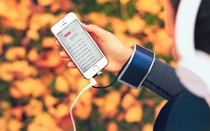 Вещь дня: браслет-зарядка для мобильных с солнечной батареей