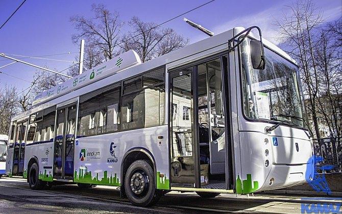 КАМАЗ выпустил электробус, который заряжается за шесть минут