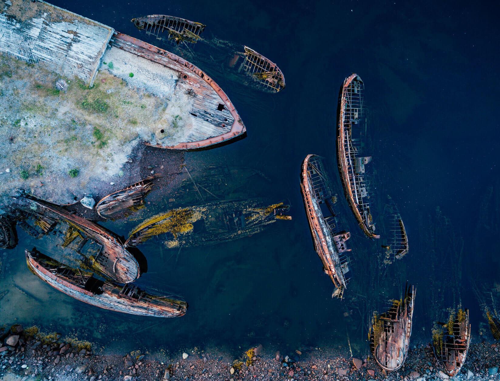 Как в России началась работа по подъему и утилизации затонувших судов