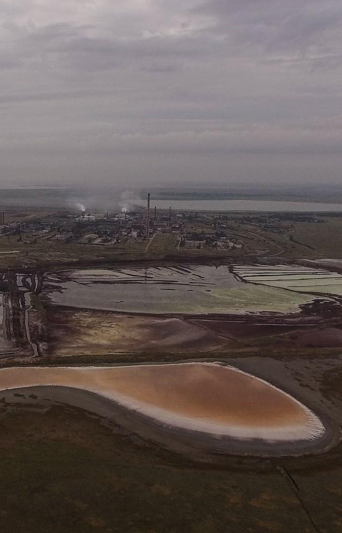 План модернизации завода в Армянске не гарантирует защиту от повторения экологической катастрофы
