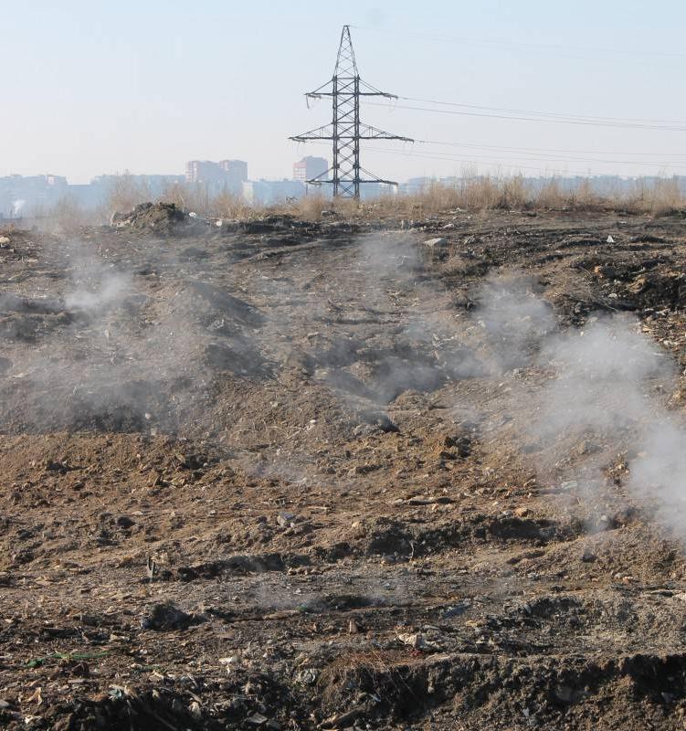 В Нижегородской области ликвидируют свалку площадью 18 га