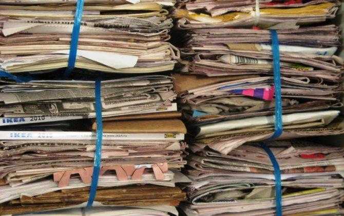 В Москве запустили проект по сбору макулатуры «Бумажный бум»