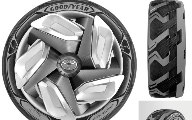 Шины Goodyear будут вырабатывать электричество