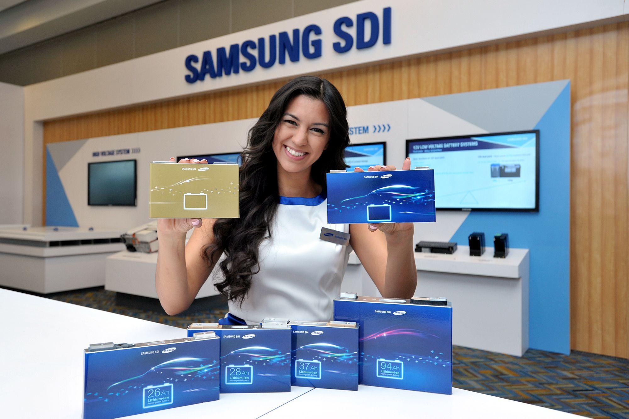 Samsung выпустит батареи для электромобилей