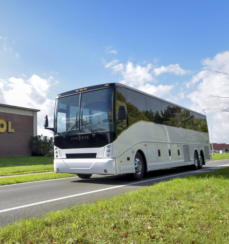 В Германии запустили 10 водородных автобусов