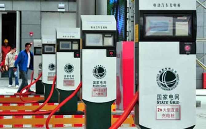 В Китае открылась крупнейшая сеть электрозаправок