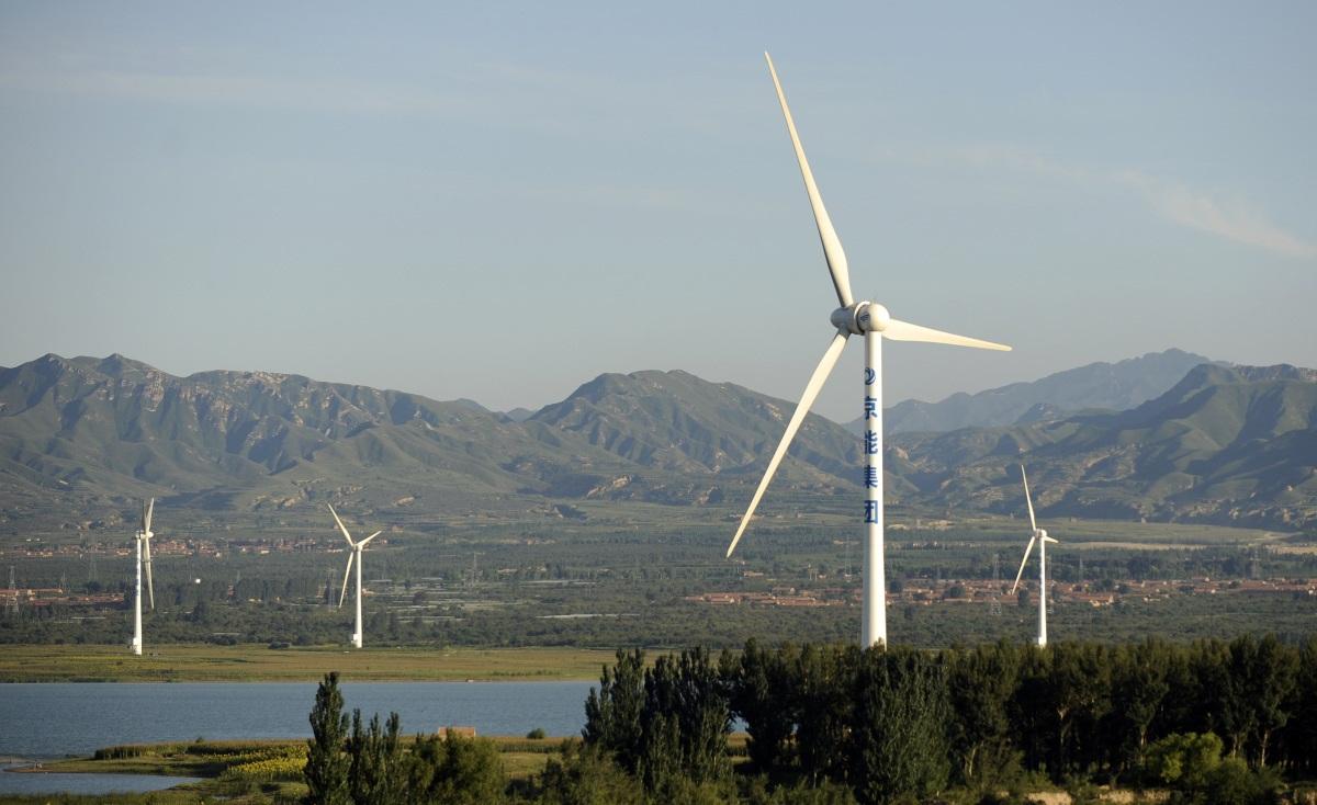 Китай потратит на ветряную энергетику $102 млрд