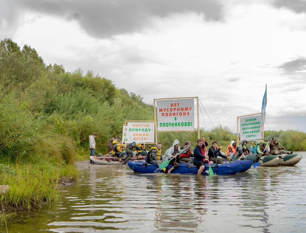 Как экоактивисты Новосибирской области провели сплав в защиту малых рек региона