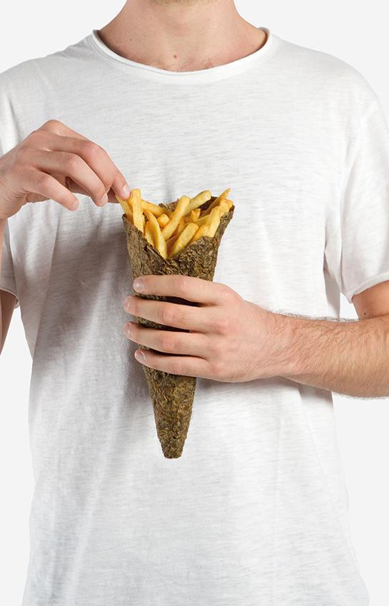 Картошку фри на вынос будут подавать в упаковке из картофельной кожуры