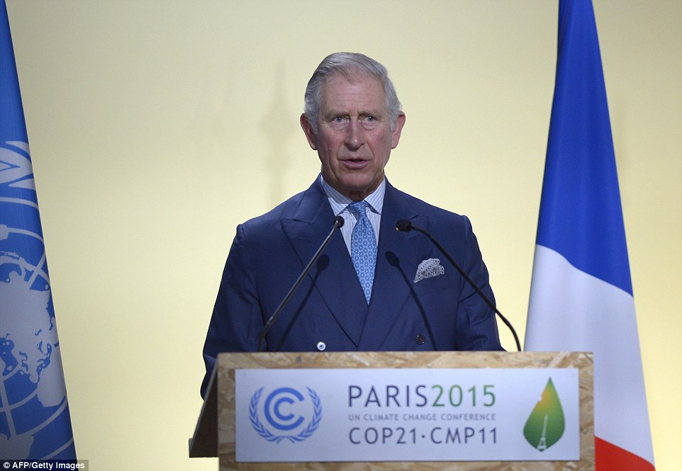 Принц Чарльз написал книгу об изменении климата