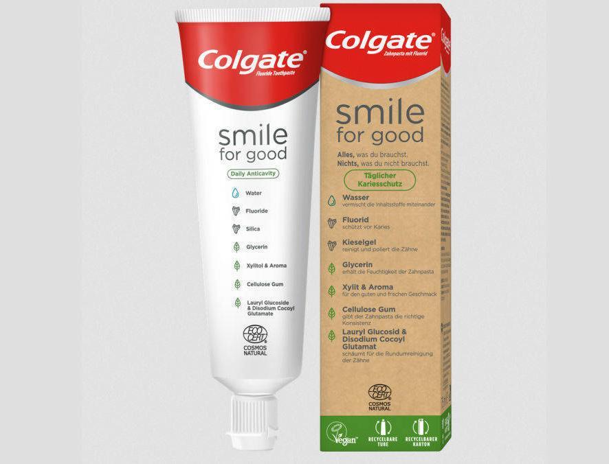 Экологичные продукты Colgate теперь доступны в России