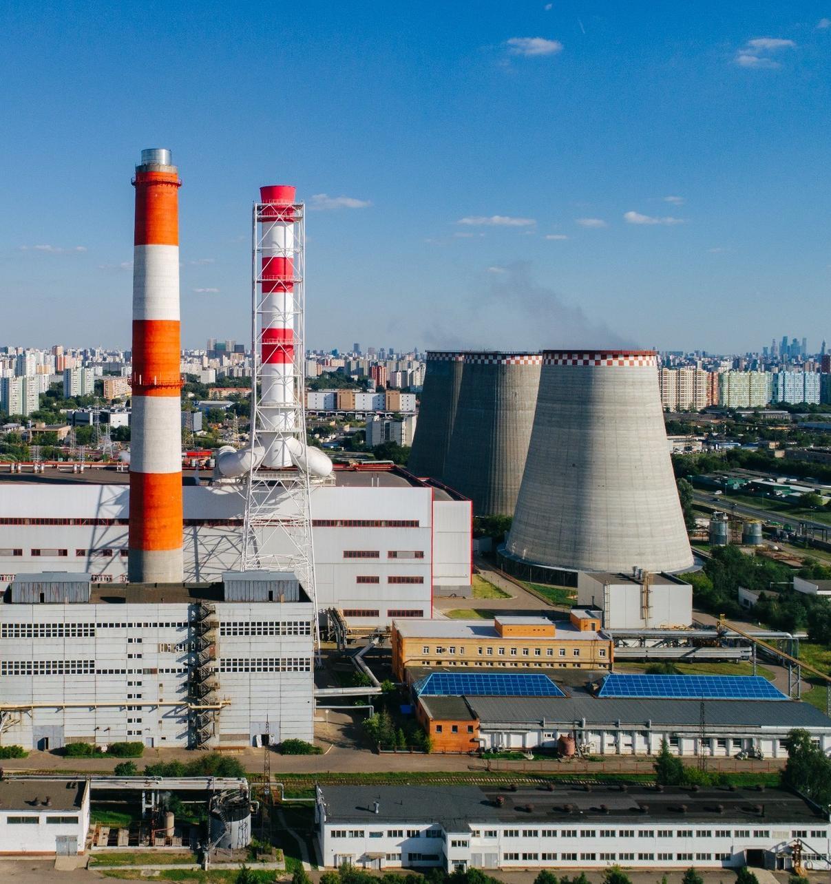 За 30 лет тепловые выбросы в Москве снизились на четверть