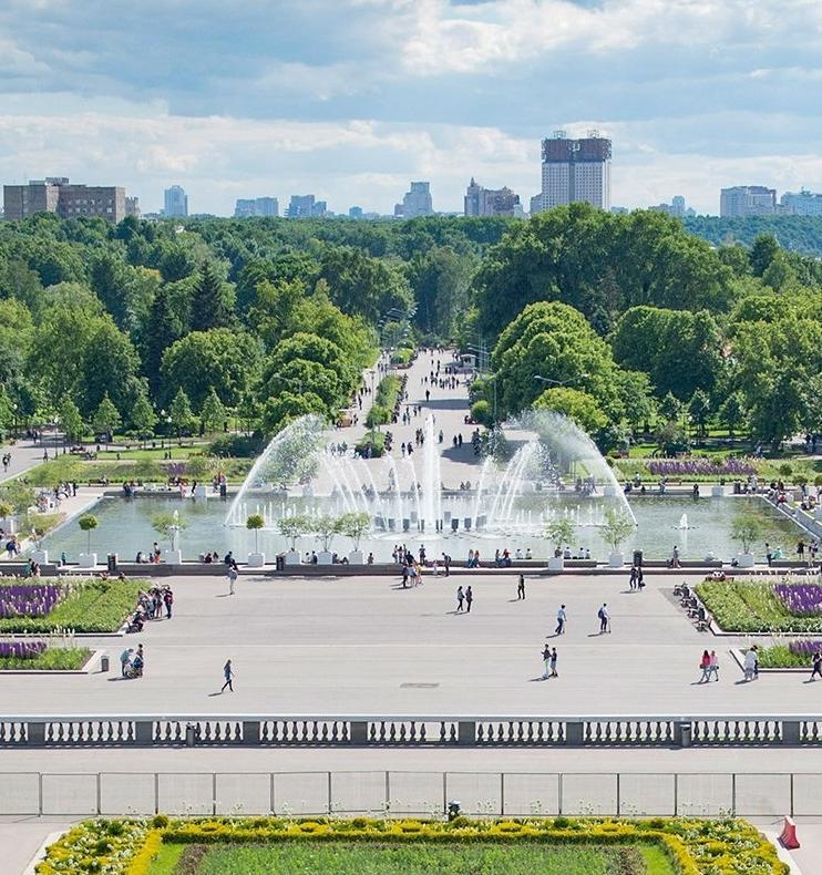 Участники экофестиваля в Парке Горького сделают замеры качества воды и воздуха