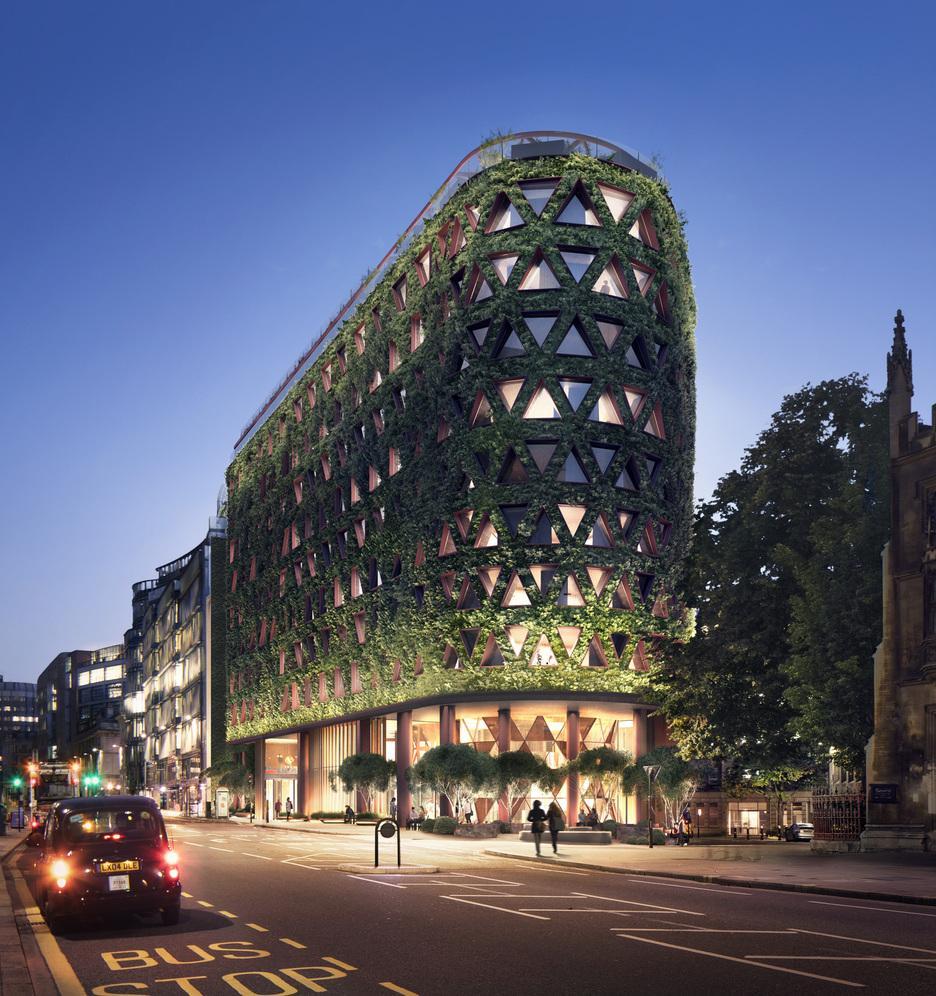 Отель в центре Лондона будет очищать воздух