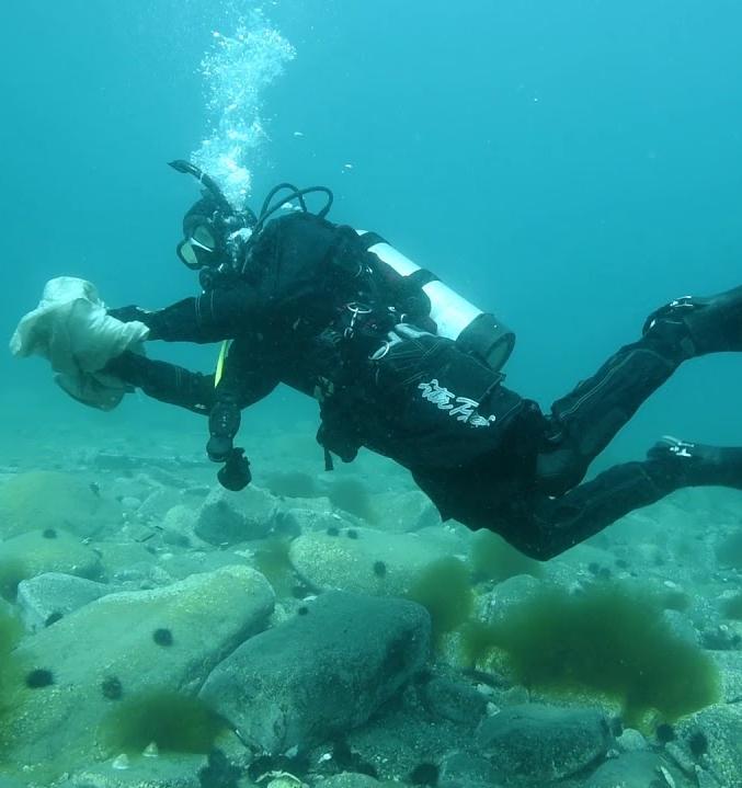 Дно Чёрного моря очистят от мусора на подводном субботнике