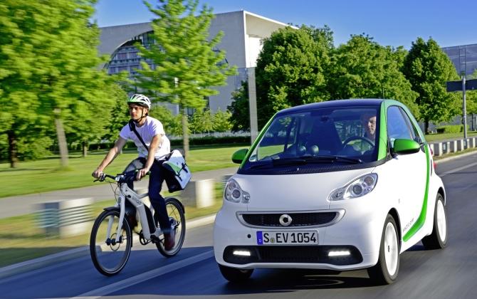 Ученики в автошколах Германии будут ездить на электромобилях