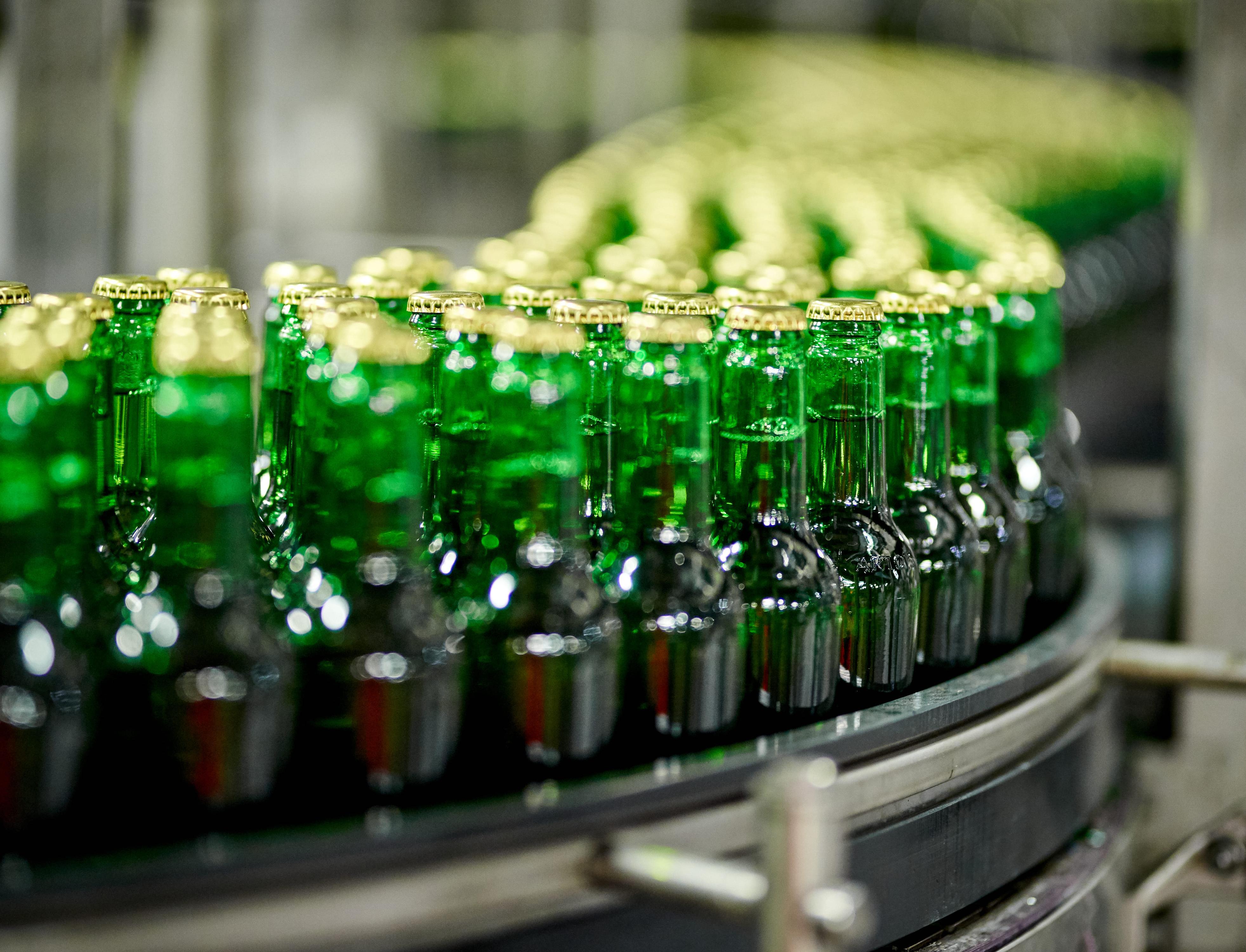 Разработана самая легкая и экологичная пивная бутылка в мире