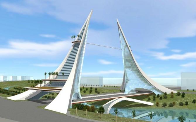 Началось строительство самых высоких в мире экологических небоскребов