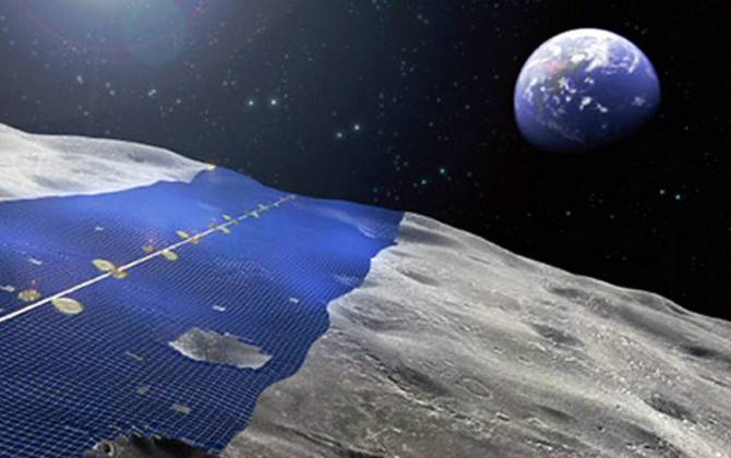 Японцы хотят получать солнечную энергию с Луны