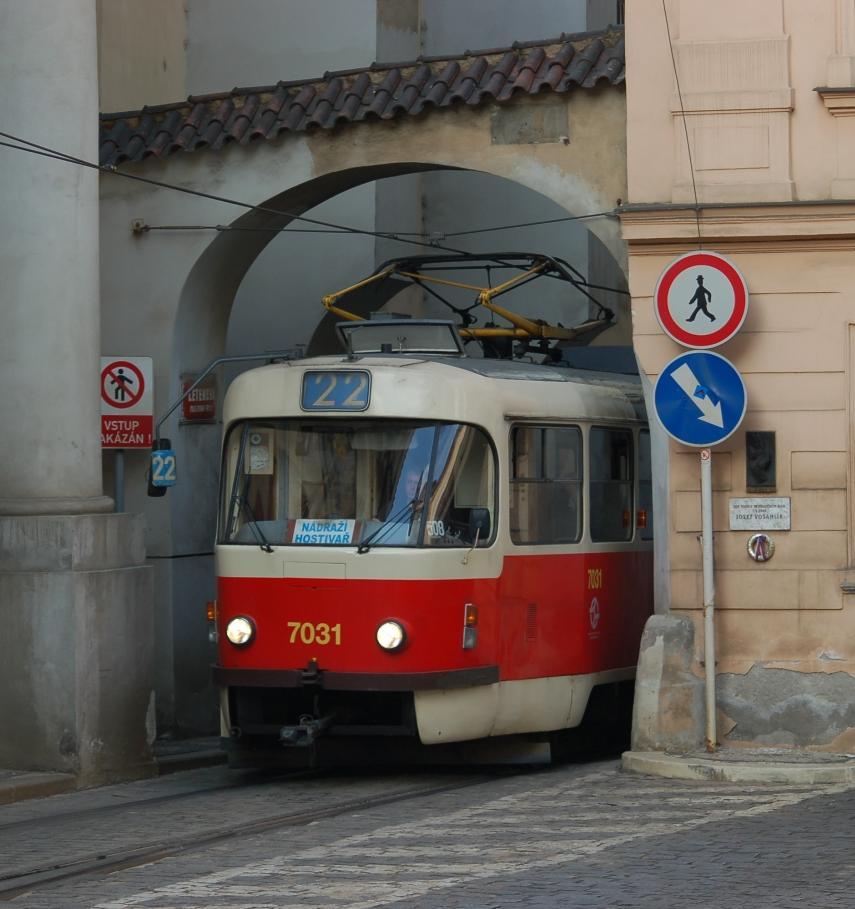 В Праге общественный транспорт во время смога будет бесплатным
