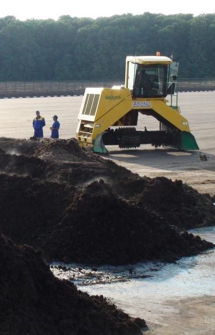 Петербург решил очищать компост по бельгийской технологии