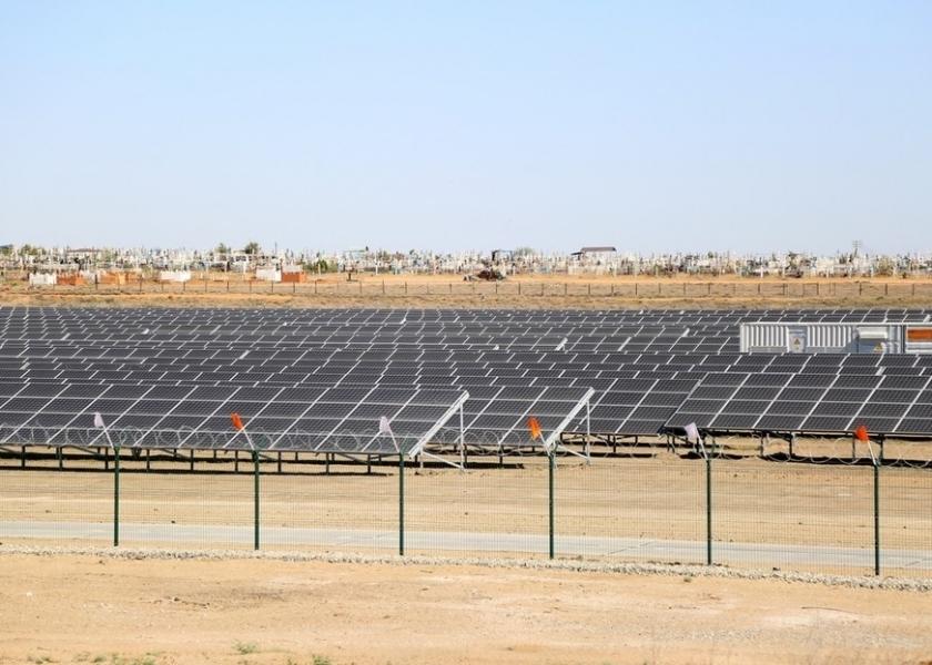 Новая солнечная электростанция открылась на юге России