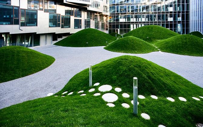 Все новые здания в Копенгагене будут строиться с зелеными крышами