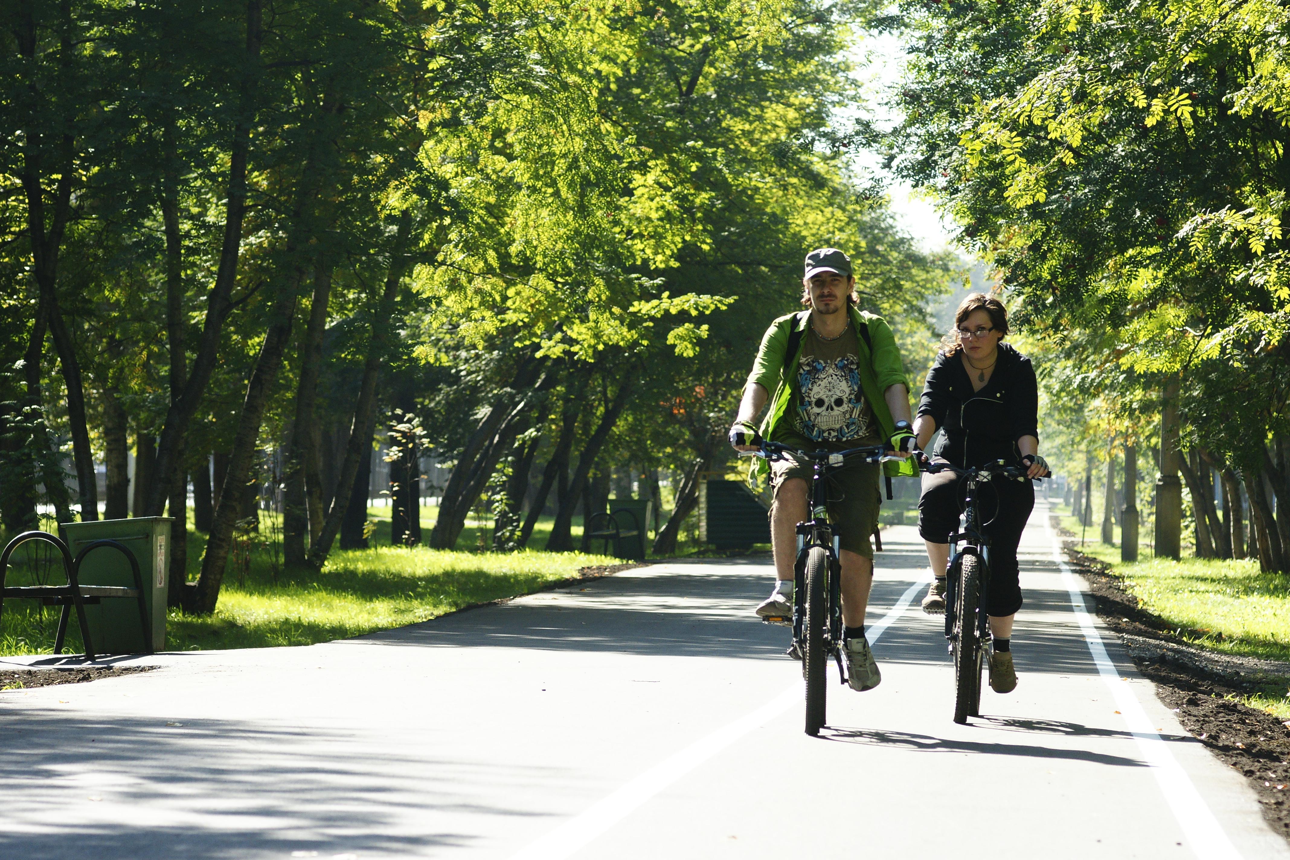 В Петербурге появятся два экопарка с велодорожками