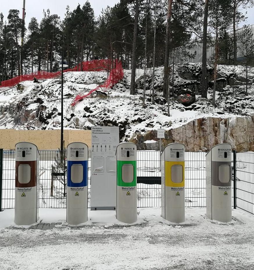 Как устроены раздельный сбор и переработка мусора в Финляндии