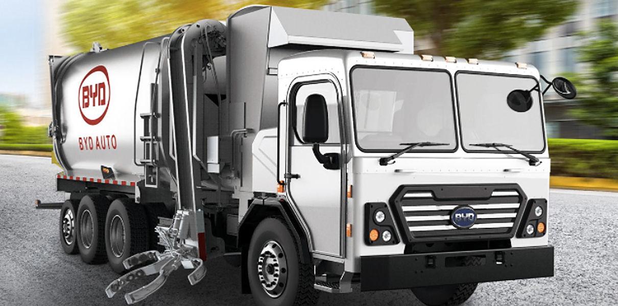 Китайская компания будет выпускать электрические мусоровозы