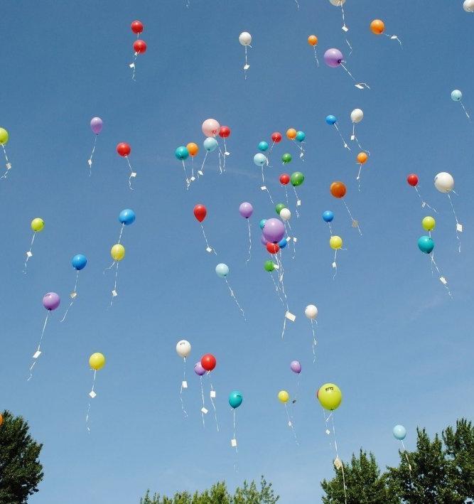 В Германии могут запретить запуск в небо воздушных шариков