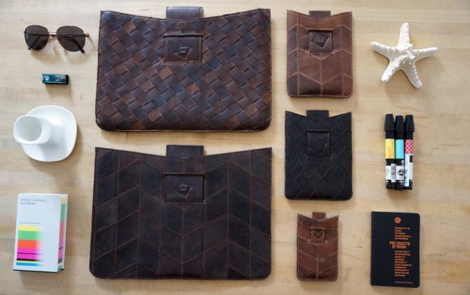 Переработка дня: чехлы для iPhone из обрезков кожи