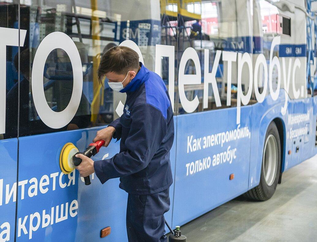 В Москве запустили производство электробусов