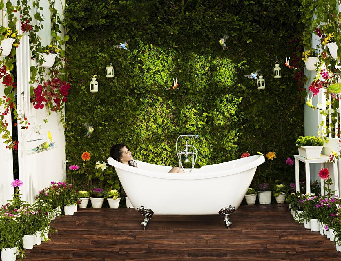 ЭкоДом: 14 способов сделать ванную комнату экологичной