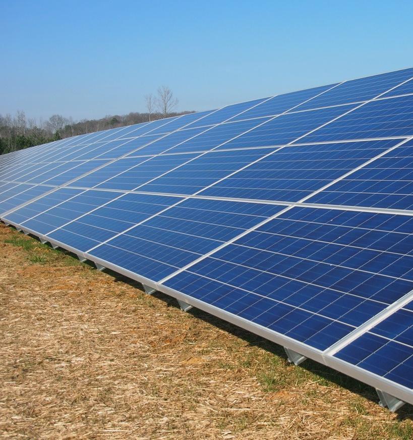 В Омской области строят крупную солнечную электростанцию