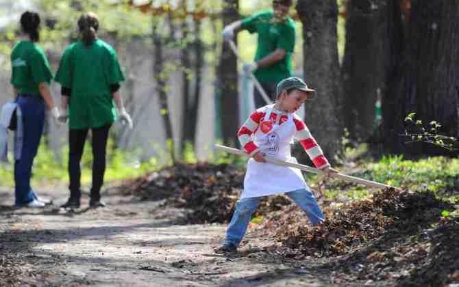 В парке «Красная Пресня» пройдет субботник The Village