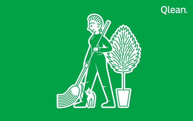 В Москве запустился сервис экологичной уборки квартир Qlean