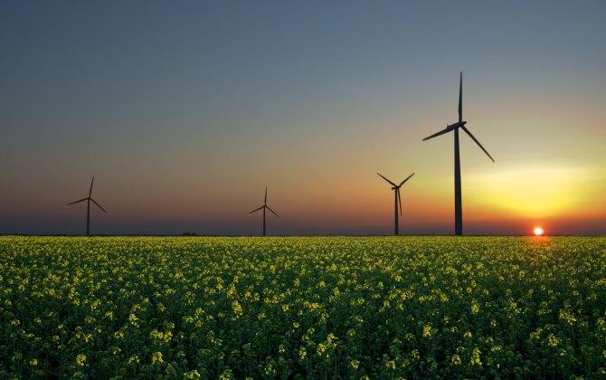 США планирует получать 35% электричества от ветра