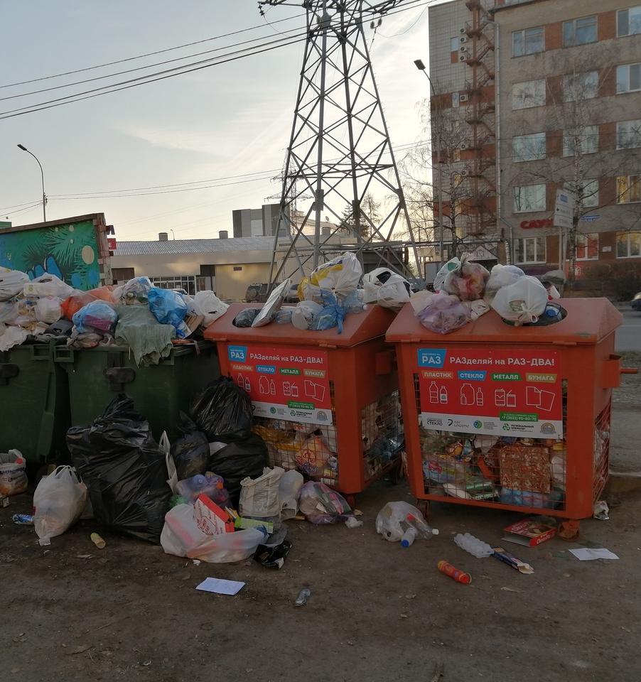 16 регионов России на грани мусорных коллапсов