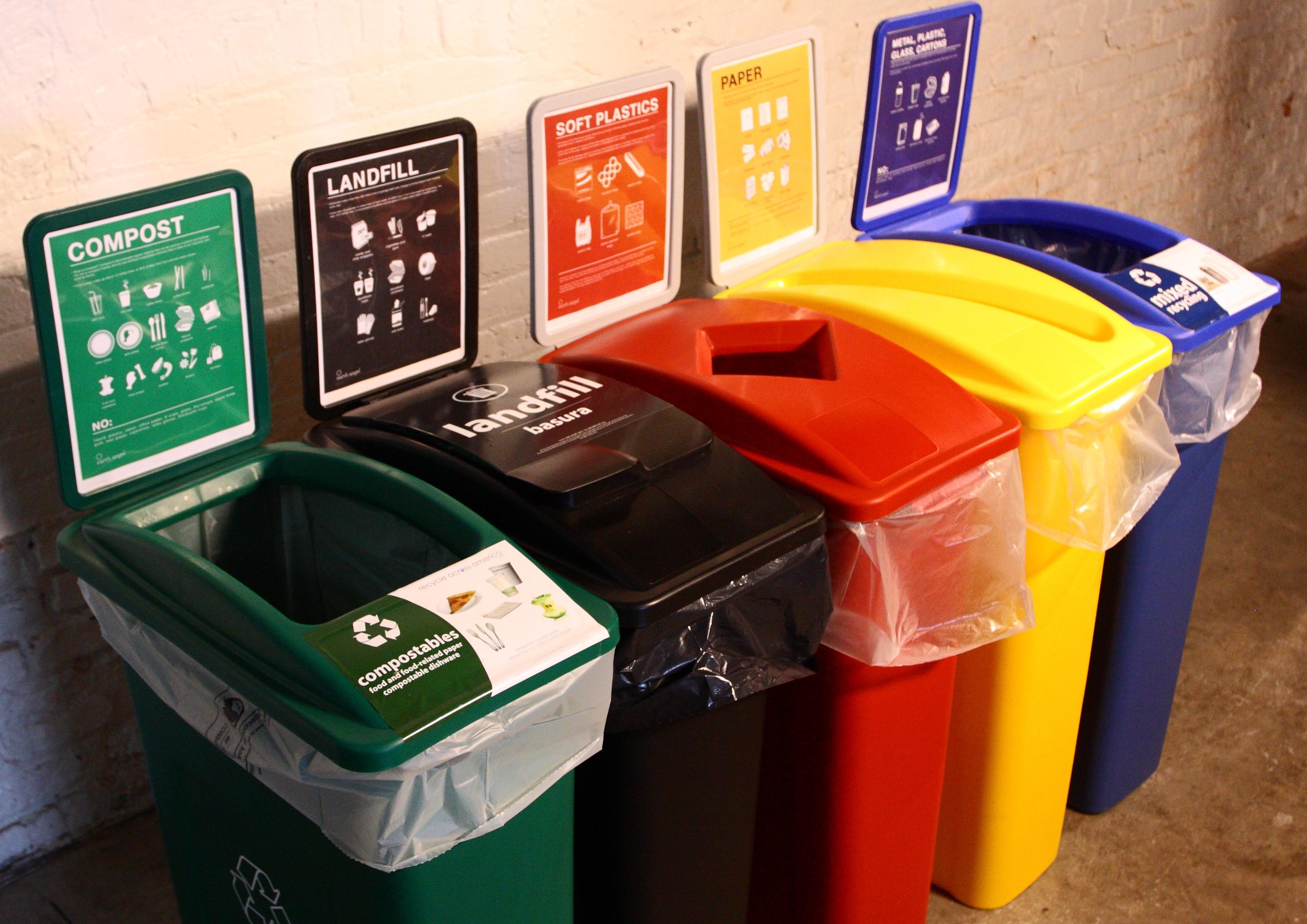 На лекции расскажут об организации раздельного сбора мусора в Москве