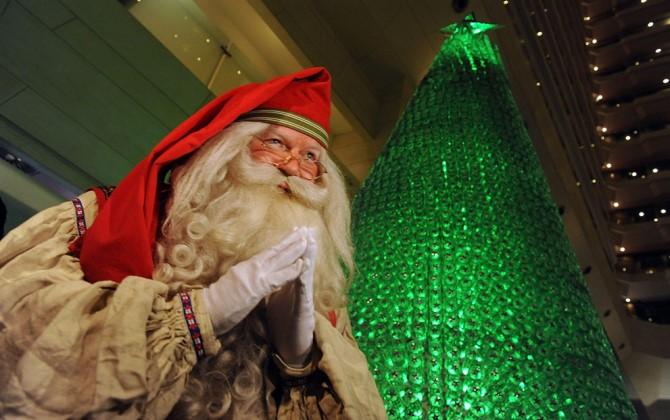 В Нижнем Новгороде «вырастят» елку из пластиковых бутылок