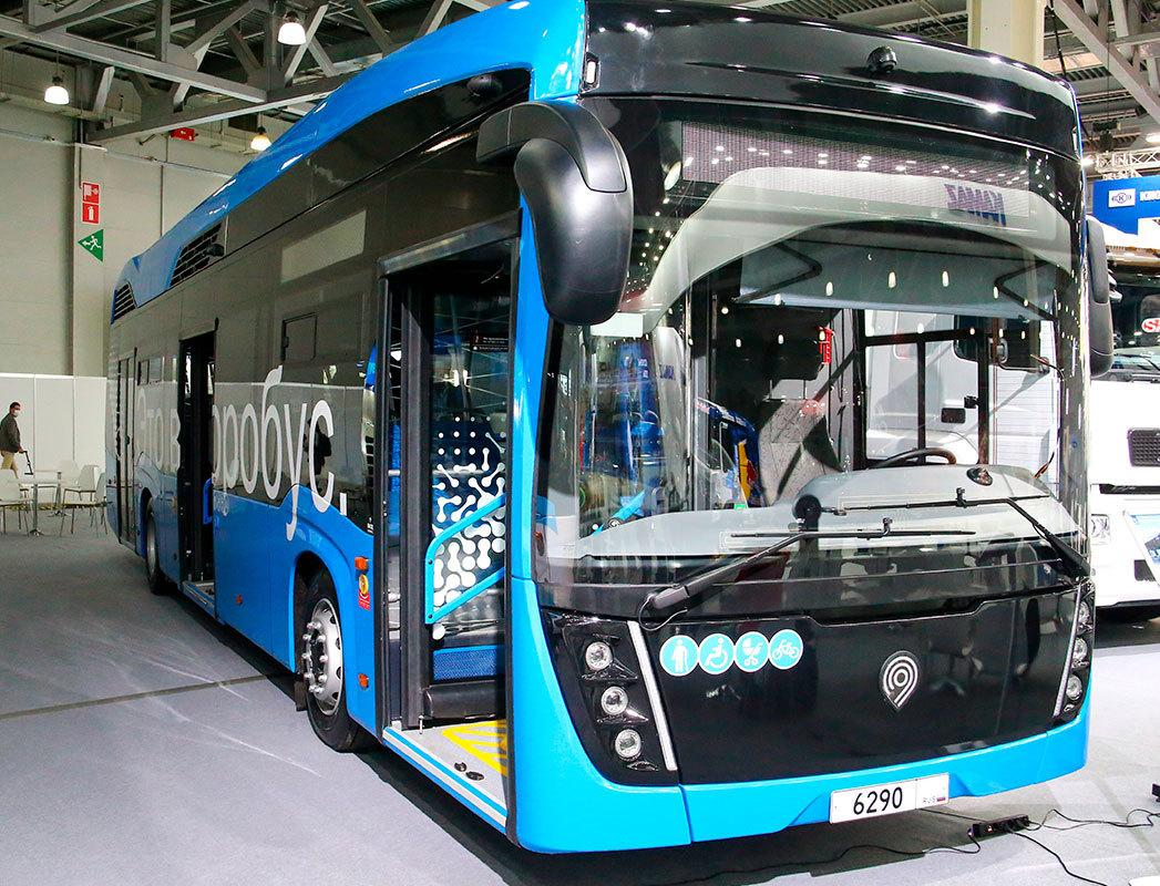 Первый автобус на водороде запустят в 2022 году в Москве