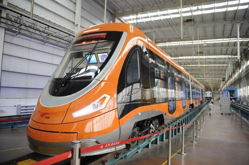 В Китае запустили первый в мире безотходный трамвай на водороде