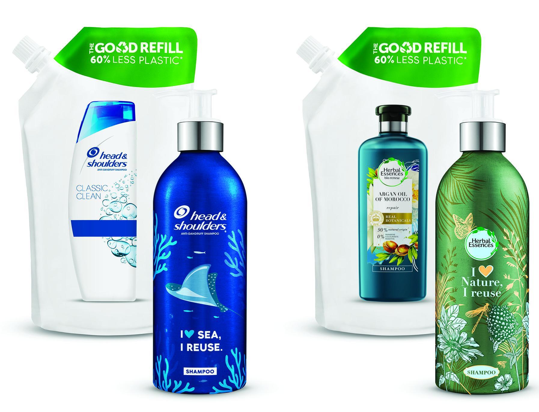 P&G Beauty запустили первую в Европе систему многоразовой упаковки шампуней