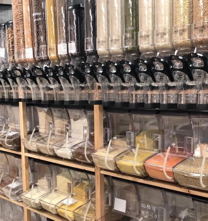 5 самых популярных товаров магазина без упаковки в Москве