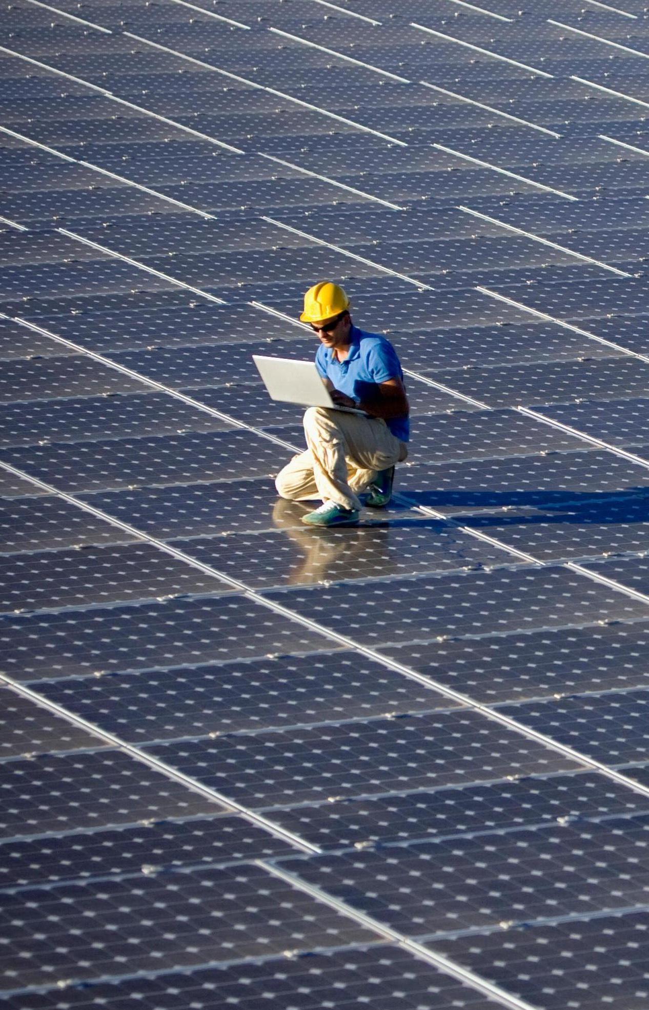 Самую большую в Европе солнечную электростанцию построили в Португалии