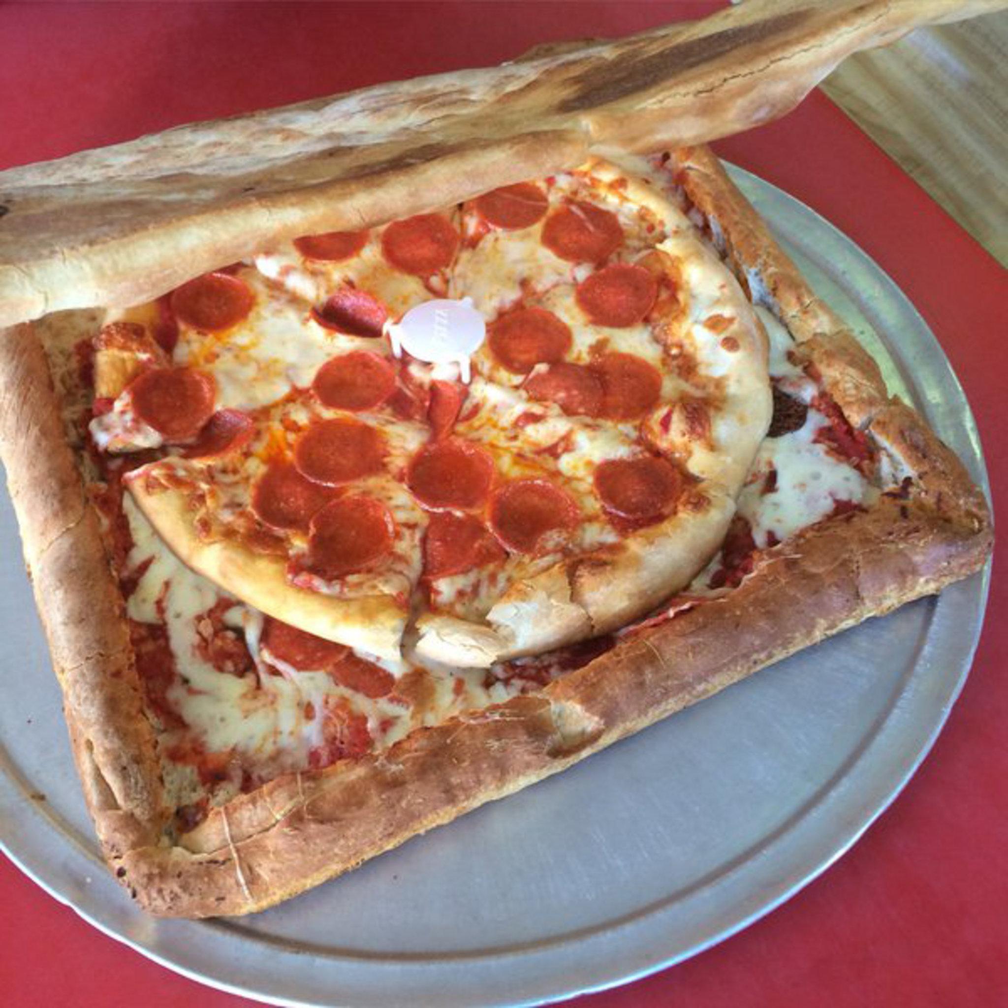 Ноль отходов: пицца в коробке из пиццы